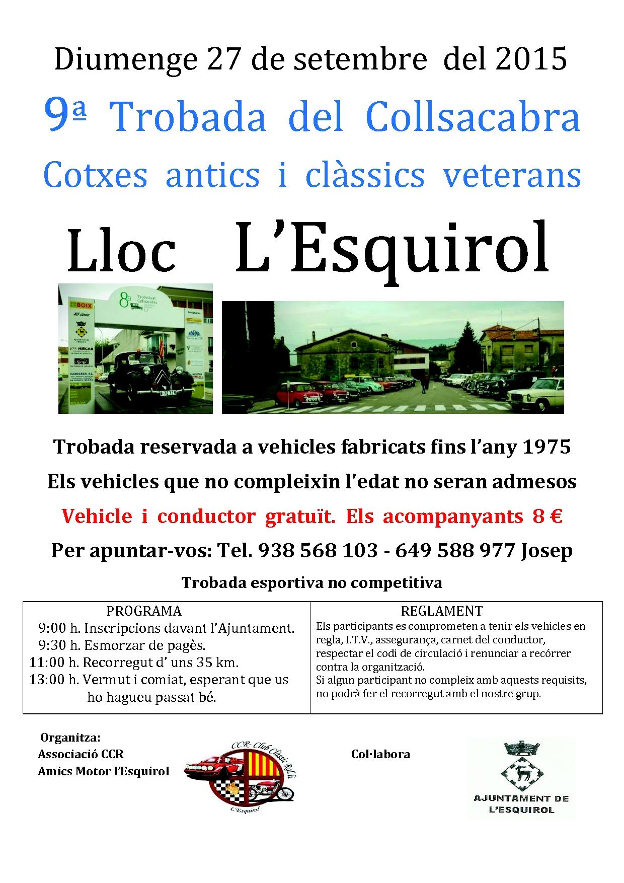 Trobada de cotxes clàssics i veterans
