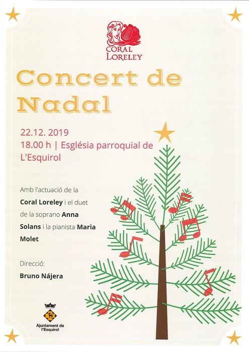 Concert de Nadal a l'Esquirol