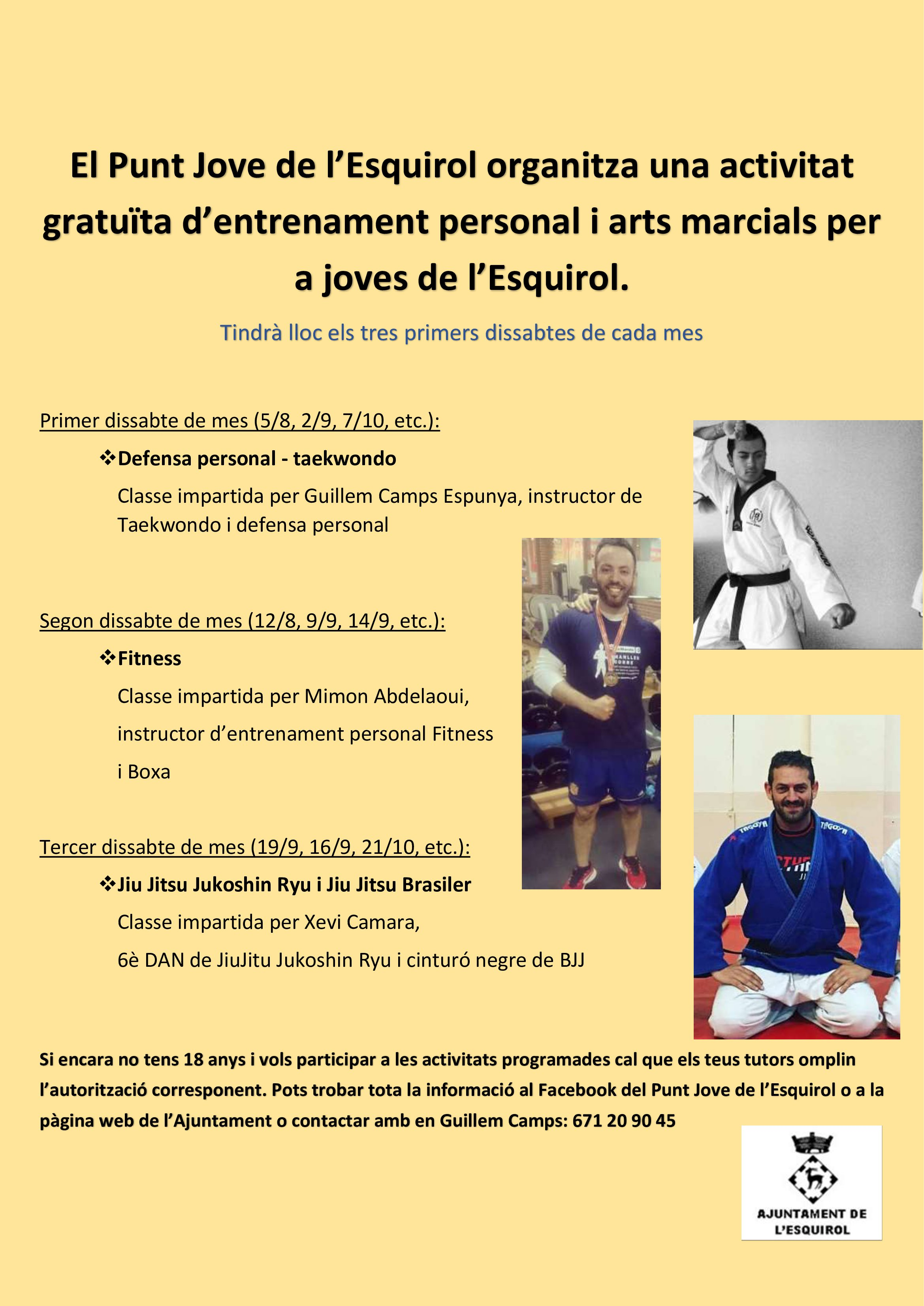 Classes d'entrenament personal
