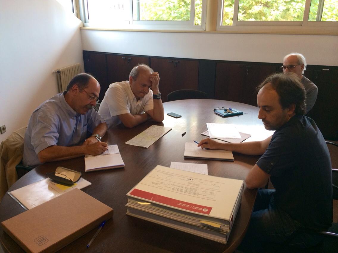 Moment de la reunió
