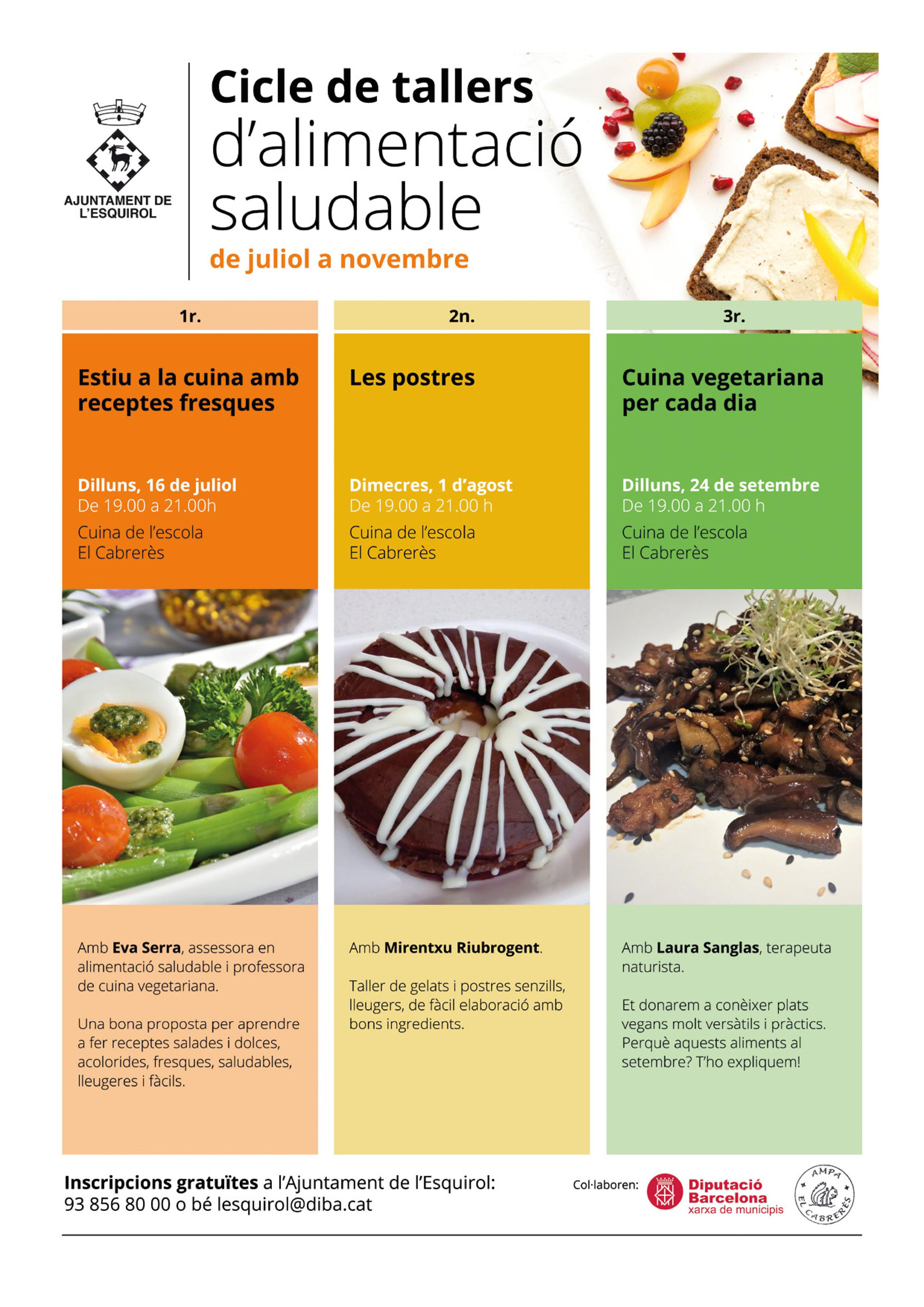 Tallers alimentació saludable